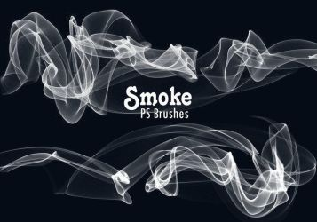 20 Smoke PS Brushes abr. Vol.10 by fhfgdjjkhjkj