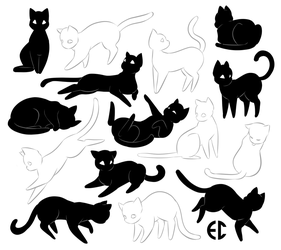 CATS by Sketchderps