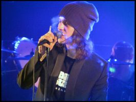 Dark Pink - Ville Valo by laether-mad