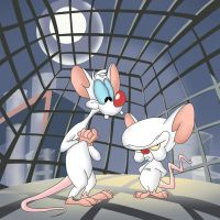 They're Pinky and the Brain by WellnessWater