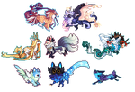 [Pixel] Misc species by sordid-dessert