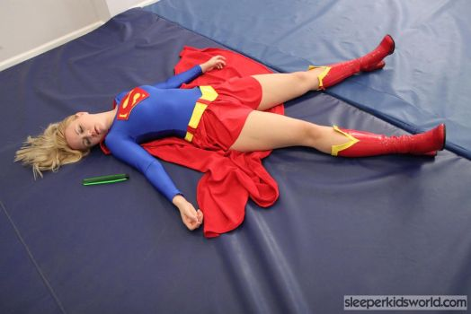 Supergirl Defeated by JAT23