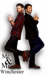 Mr and Mr Winchester by LicieOIC