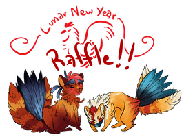 Panfans: Lunar New Year Raffle! CLOSED! by NaritaCoree