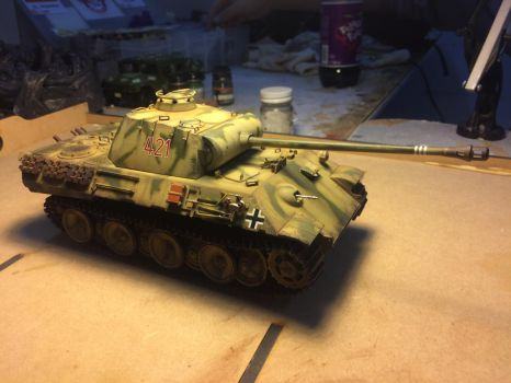 Panther Ausf. A Scale: 1/35 Brand: Tamiya by franciscoa51