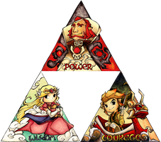 The Complete Triforce by HyliaBeilschmidt