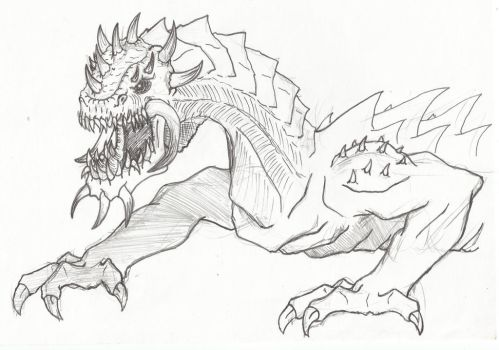 Spikes and fangs by CreepOfFear