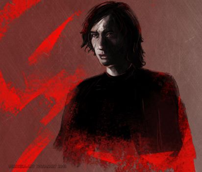Kylo Ren TLJ by Veronika-Art