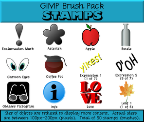 Stamps Brush Pack by Arvin61R58