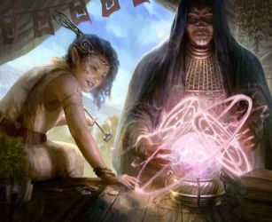 The Fraud and the Seer (revisited) by Asfodelo