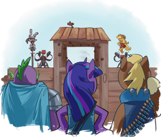 Defense of the Apple Acres by stupjam