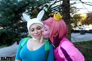 Adventure Time: Your Fist Has Touched My Heart by sunlitebreeze