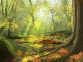 fall speedpaint by farbenleere
