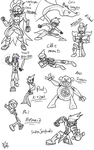 Sketch Dump Oct 23 by Thesimpleartist4