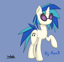 Another Vinyl Scratch by TsubukiSan