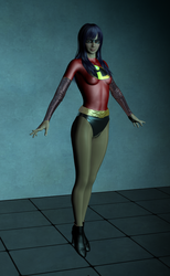 Violet Parr Option C by EmpireCityHeroines