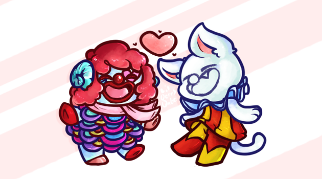 Clown'n it up! by Lil-Berry-Babe