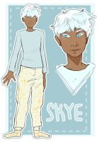 OC // Skye Character Sheet by galaxytxt