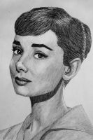 Audrey Hepburn by HeavenhairSixes