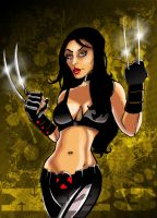 X-23 by mrfuzzynutz