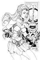 She-Ra Princess of Power INKS by ladykelly
