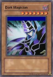 Dark Magician Card by Samir505