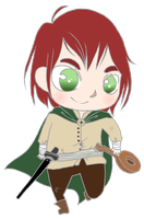 Kvothe by BertMel