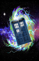 Tardis Electric by Laserbot