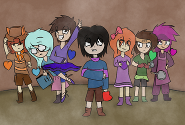 The 7 Human Souls by Crummy-Pheonix
