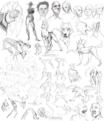 Sketchdump.14 by Remarin