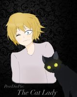 PewDiePie: The Cat Lady by FullmetalUdon