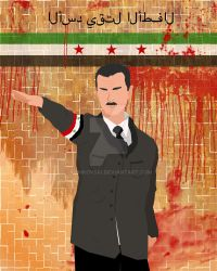 Work In Progress Bashar Assad  Crits wanted! by komKovski