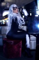 Black Cat Cosplay by caroangulito