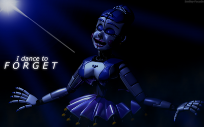 C4d | Ballora: I dance to forget | Poster by The-Smileyy
