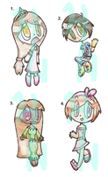 Miscellaneous Point Adoptables Batch 2 .:CLOSED:. by HH-Adopts