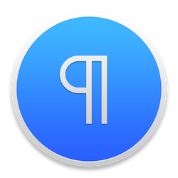 Icon for Word, Pages, OpenOffice, LibreOffice by TinyLab