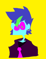 Eyestrain commission by Cr0oow