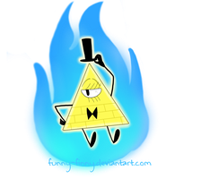 Gravity Falls: Bill Cipher by Funny-Finny