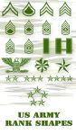 US Army PS Vector Shapes by Retoucher07030
