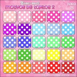 SUPER PACK motivos de topitos 2 by LauraClover