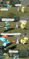 My Little Hoverboarders by misterz100