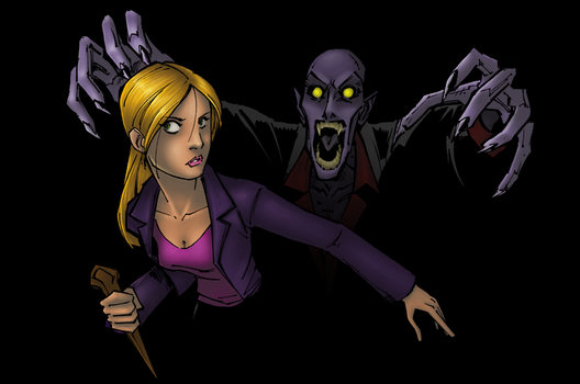 Buffy by KidNotorious by hermit-homeboy
