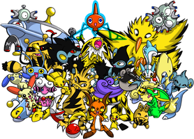electric pokemon party
