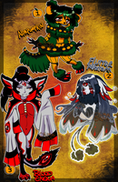 $15/1500 Halloween adopts [3/3 OPEN] by CalimonGraal