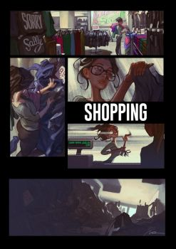 Sorry Sally 02 - Shopping by AldgerRelpa