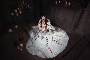 TRINITY BLOOD: Esther's smile by MiraMarta