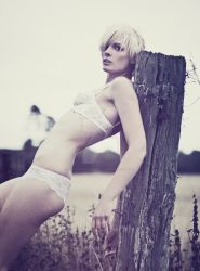 White lace by SallehSparrowPhotos