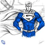Heroes Series: SUPERMAN by LouizBrito