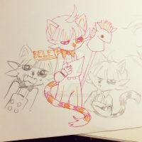 Beleth doodles by charboiled