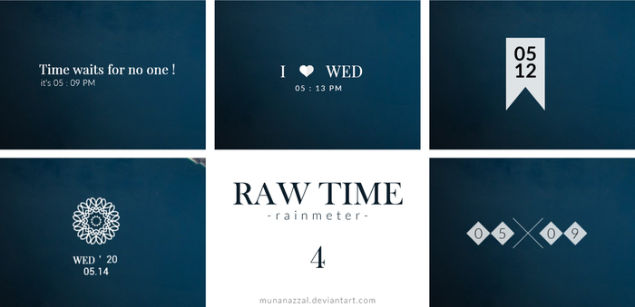 Raw Time Pack 4 [New Update 21 September 2017] by MunaNazzal